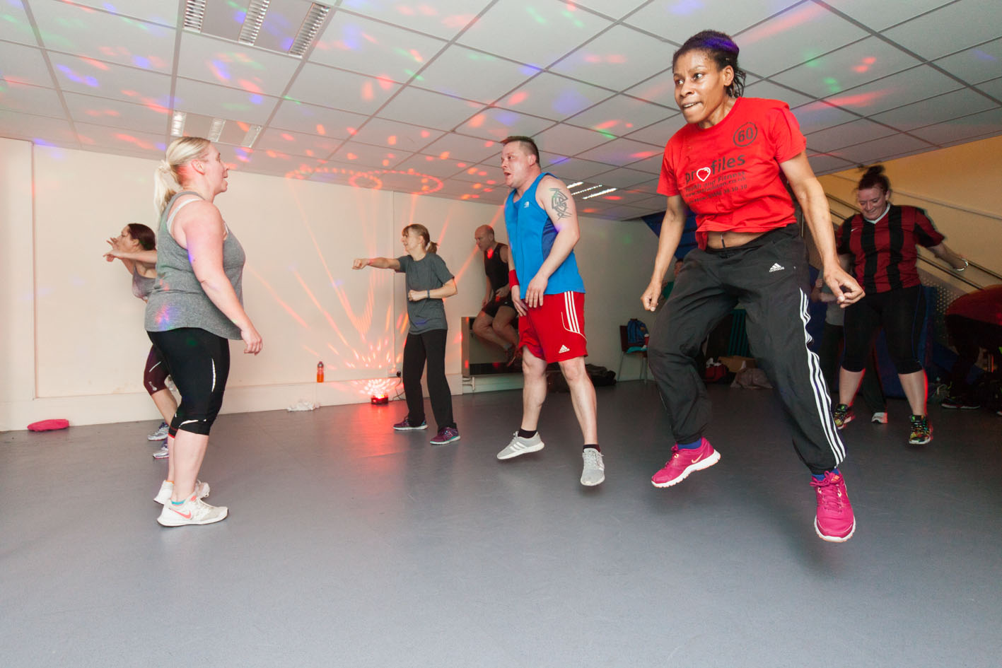 Fitness classes at Lewsey 2