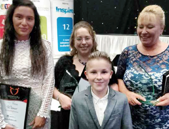 'Outstanding bravery' award for Lewsey Pool Trio