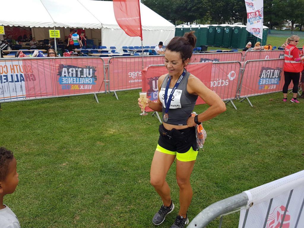 Superwoman Catrina wins Ultra Challenge Race