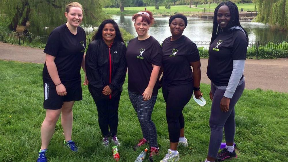 ME TIME Luton is a finalist in Women's Sport Trust #BeAGameChanger Awards