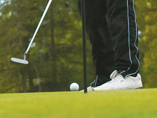 Get into the swing of golf