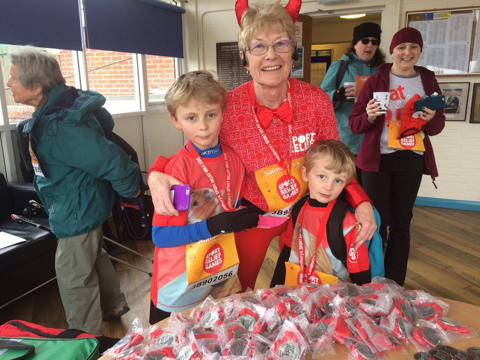 Sport Relief at Stockwood Park Athletics Centre